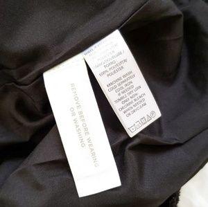 LOFT Skirts - Loft Ann Taylor black sparkly Skater Skirt